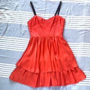 Satin Bustier Top Dress